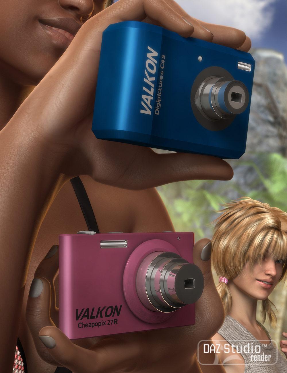 Digital Cameras by: Valandar, 3D Models by Daz 3D