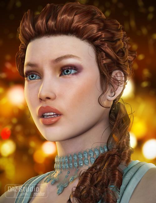 Tears Hair by: goldtassel, 3D Models by Daz 3D