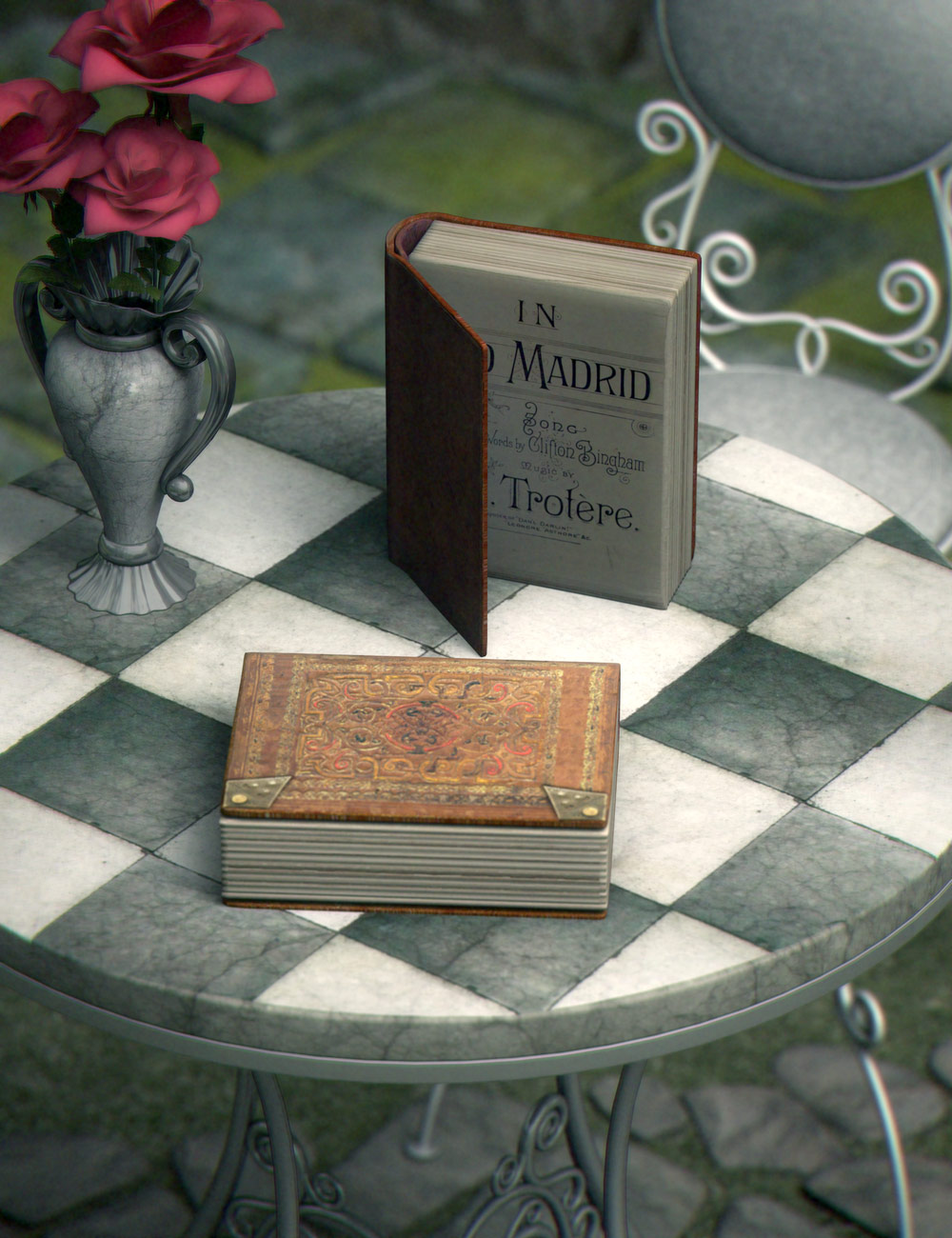 HLA Book by: PoisenedLily, 3D Models by Daz 3D