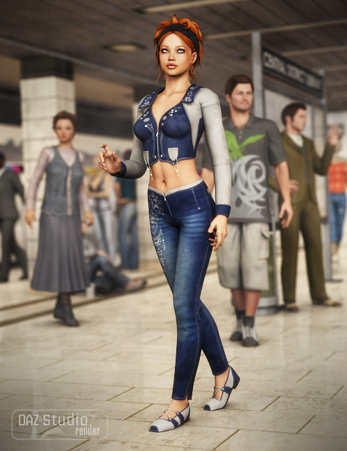 Crazy Nights by: , 3D Models by Daz 3D
