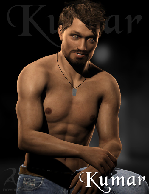 Kumar by: RawArt, 3D Models by Daz 3D