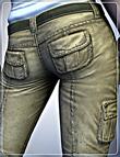 Stalker Girl Pants for Genesis by: smay, 3D Models by Daz 3D