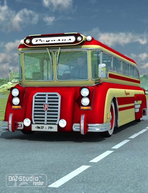 Bus Pegasus by: petipet, 3D Models by Daz 3D