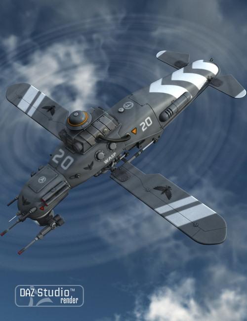 Drone Wasp by: petipet, 3D Models by Daz 3D