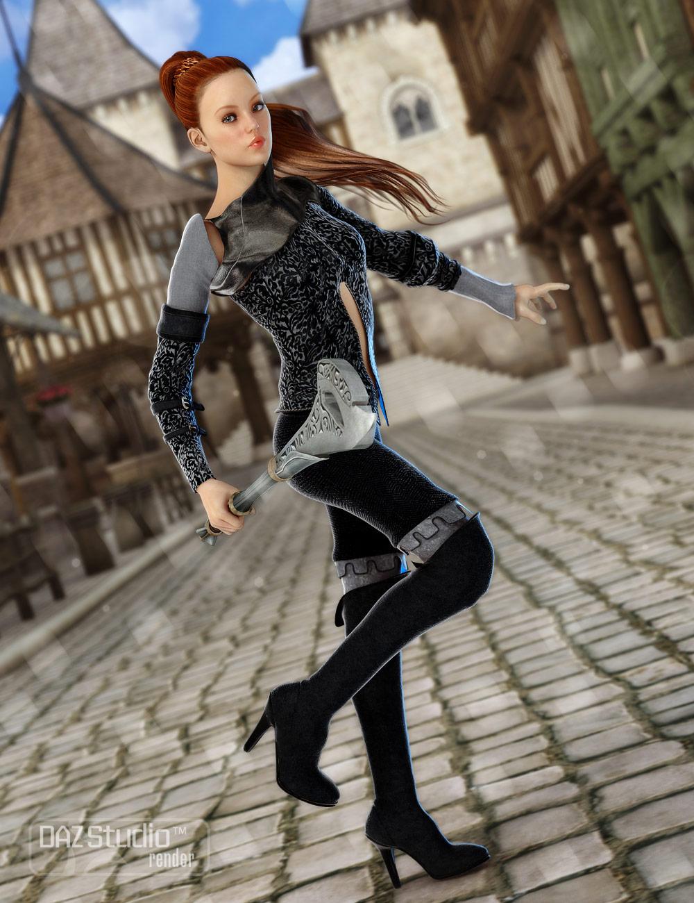 Scarlet for Genesis by: Barbara BrundonSarsa, 3D Models by Daz 3D