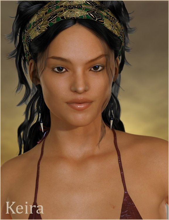 Keira for Stephanie 5 by: , 3D Models by Daz 3D