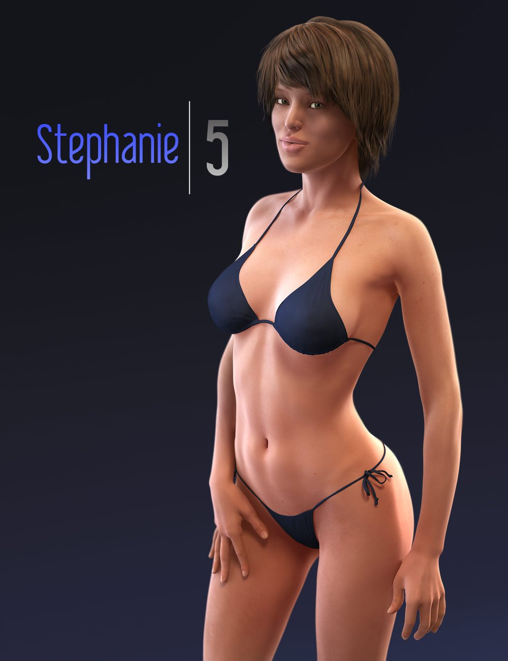 Stephanie 5 by: , 3D Models by Daz 3D