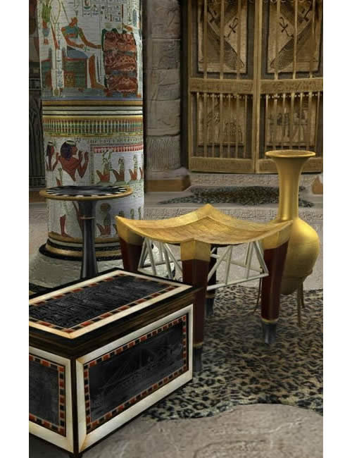 Treasures of Egypt 2 by: , 3D Models by Daz 3D