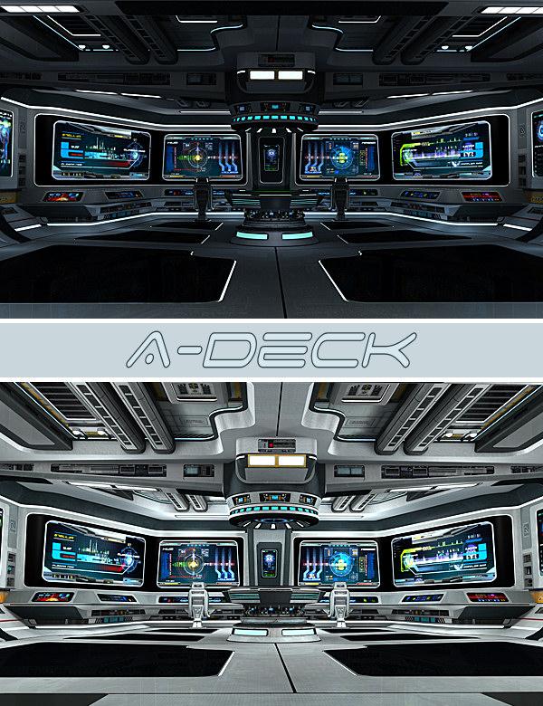 A-Deck by: Kibarreto, 3D Models by Daz 3D