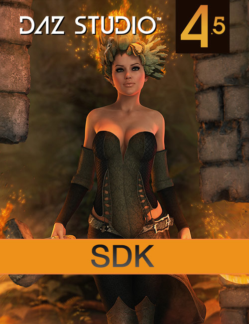 DAZ Studio 4.5+ SDK by: , 3D Models by Daz 3D