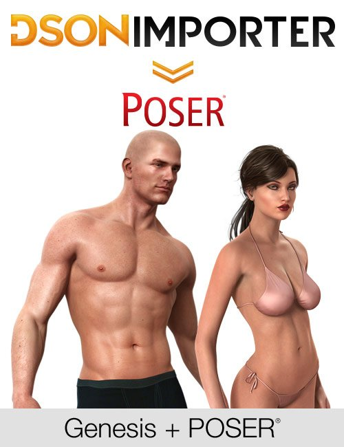DSON Importer for Poser by: , 3D Models by Daz 3D