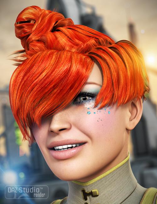 Elements Hair by: goldtassel, 3D Models by Daz 3D