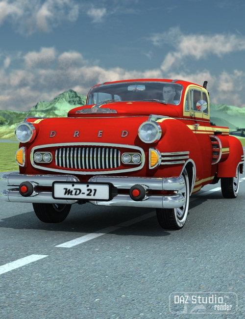 Pickup Dred by: petipet, 3D Models by Daz 3D
