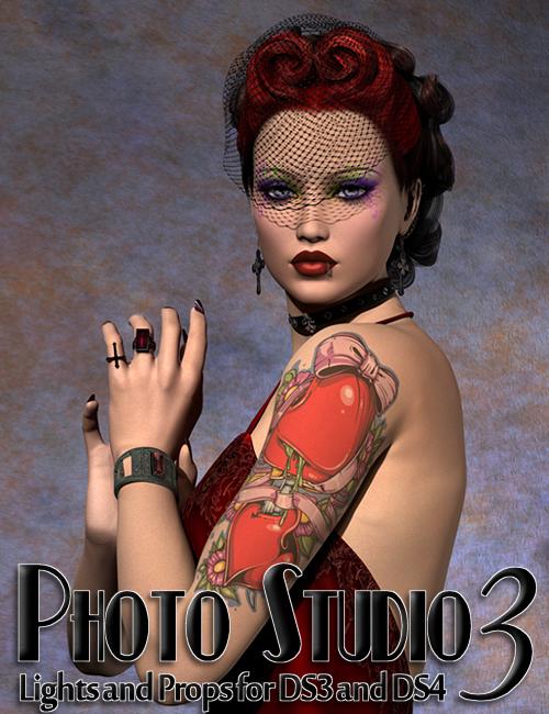 InaneGlory's Photo Studio 3 by: IDG DesignsDestinysGardenInaneGlory, 3D Models by Daz 3D