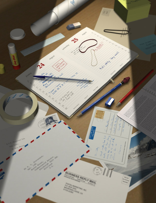 Everyday Stationery by: maclean, 3D Models by Daz 3D