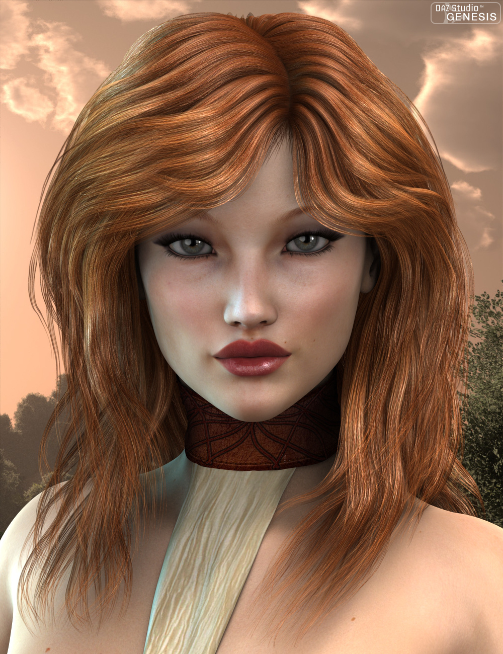 Marja Hair by: 3DreamMairy, 3D Models by Daz 3D