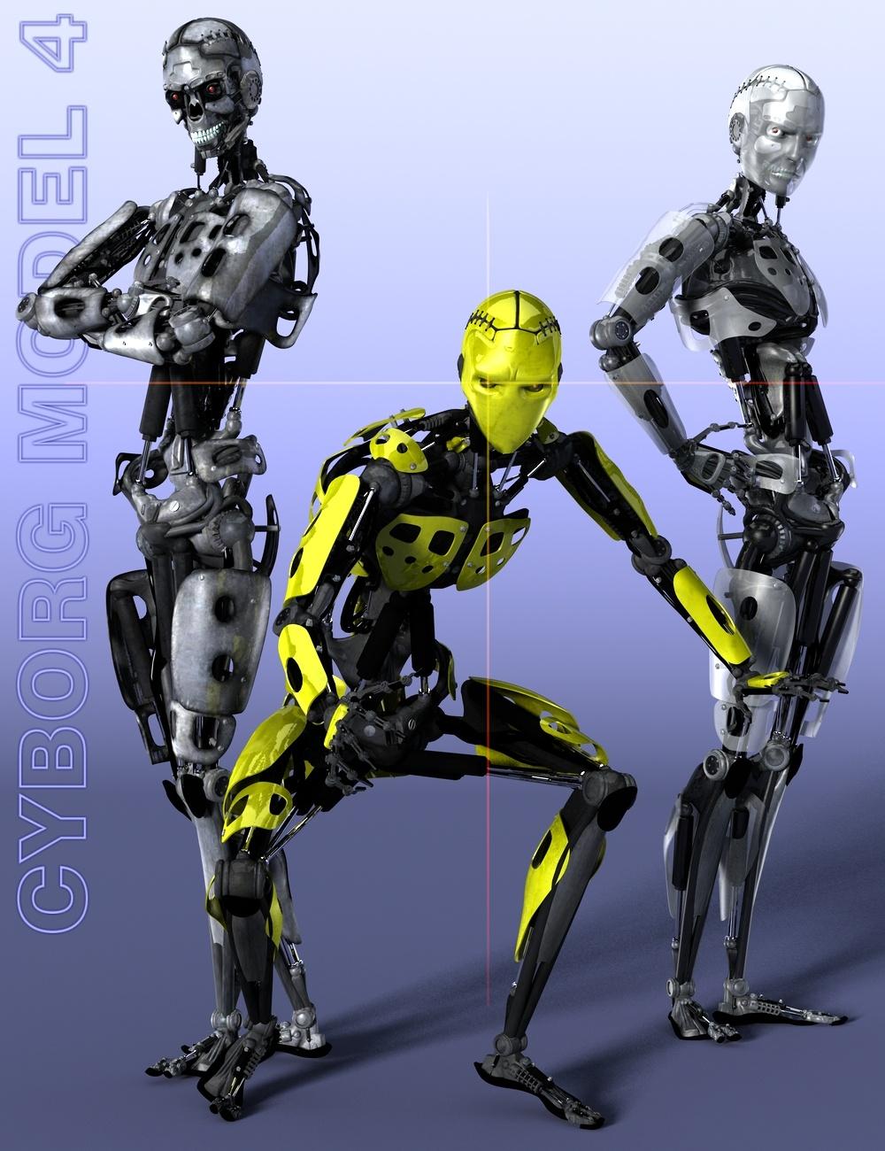 Cyborg Model 4 by: DzFire, 3D Models by Daz 3D