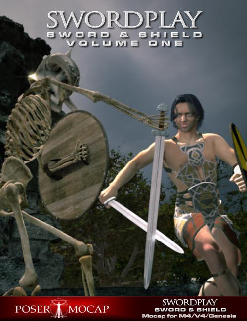 Swordplay Volume One by: PosermocapPorsimo, 3D Models by Daz 3D