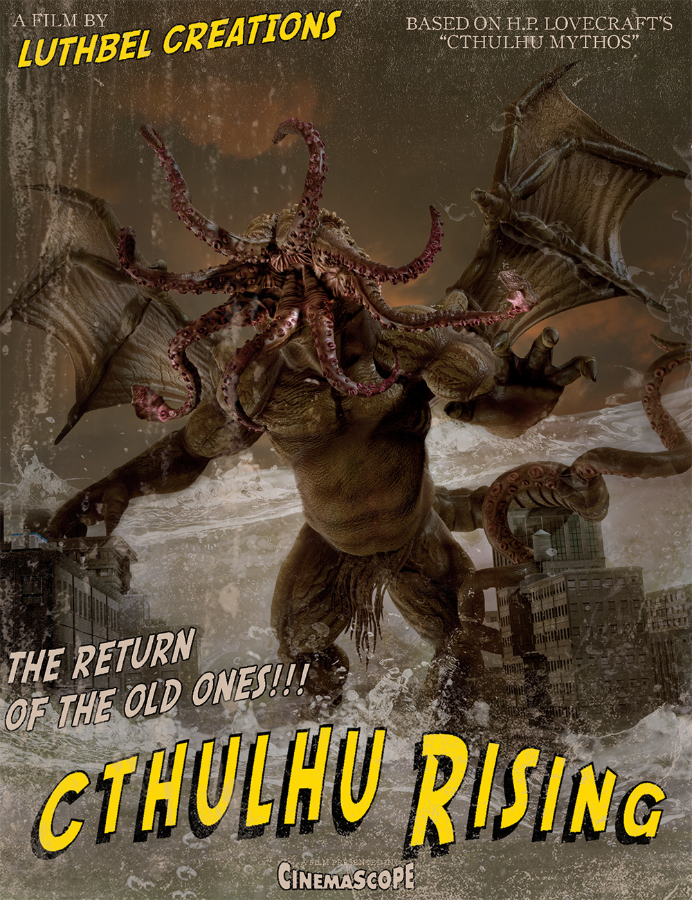 Cthulhu Rising by: Luthbel, 3D Models by Daz 3D
