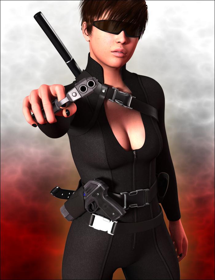 Dark Raven Reloaded by: MindVision G.D.S., 3D Models by Daz 3D