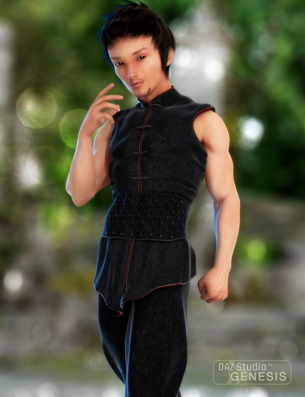 Takeo for Hiro 5 by: , 3D Models by Daz 3D