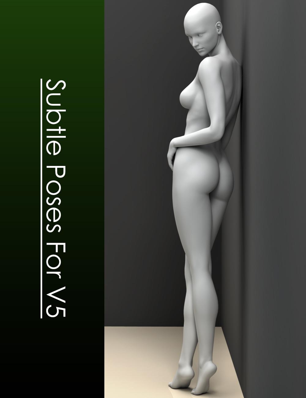 Subtle Poses for Victoria 5 by: Elele, 3D Models by Daz 3D
