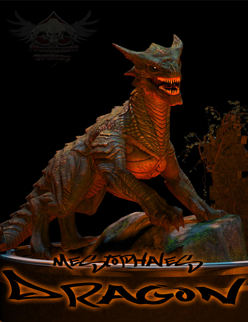 Mestophales Dragon by: mighty_mestophales, 3D Models by Daz 3D