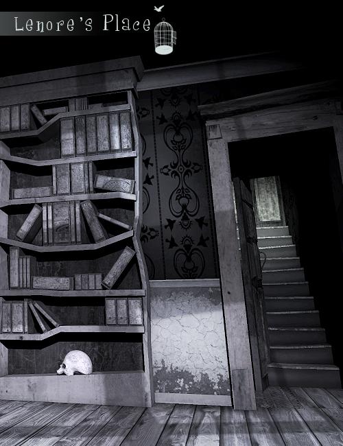 Lenore's Place by: The AntFarm, 3D Models by Daz 3D