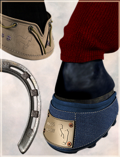 Horse ShoePack by: Karth, 3D Models by Daz 3D