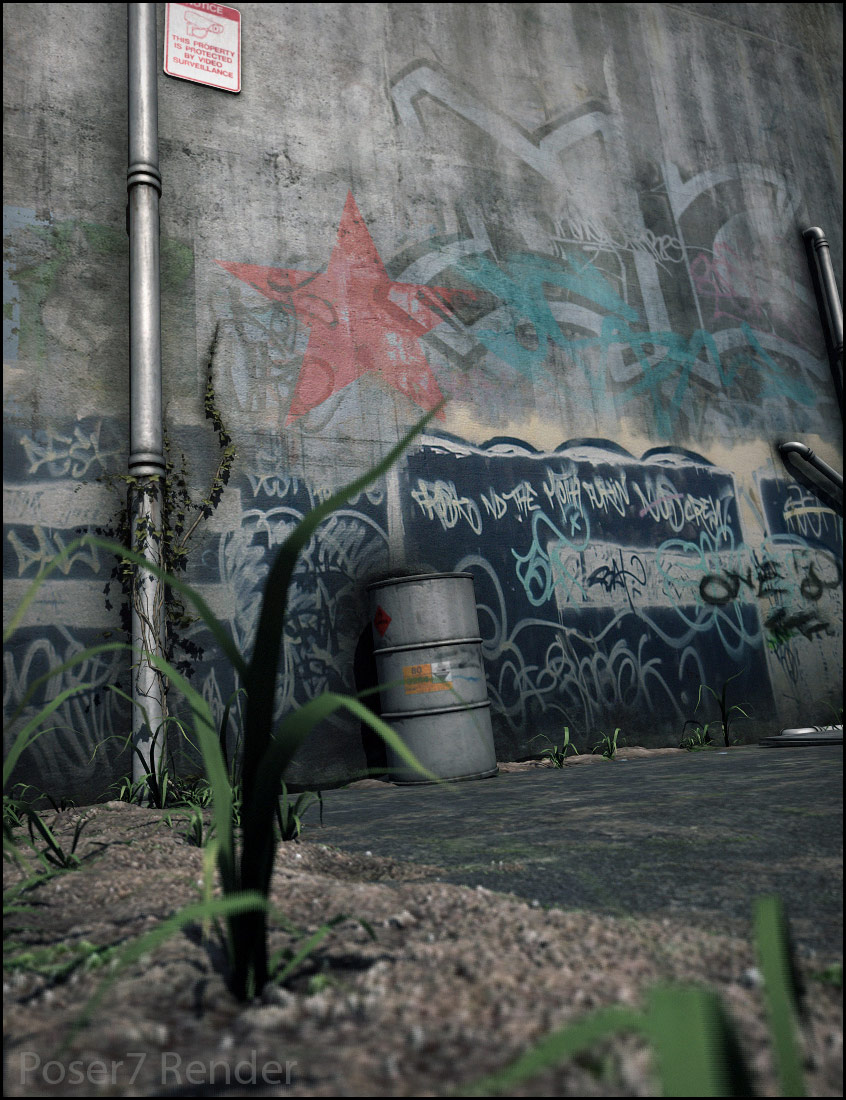 Derelict Corners Urban by: Stonemason, 3D Models by Daz 3D