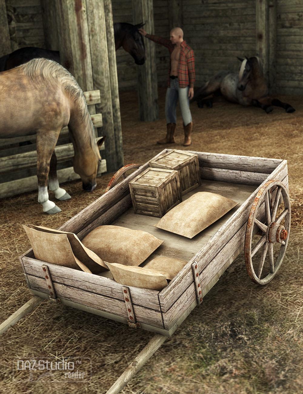 Wagon Trail 2 by: , 3D Models by Daz 3D