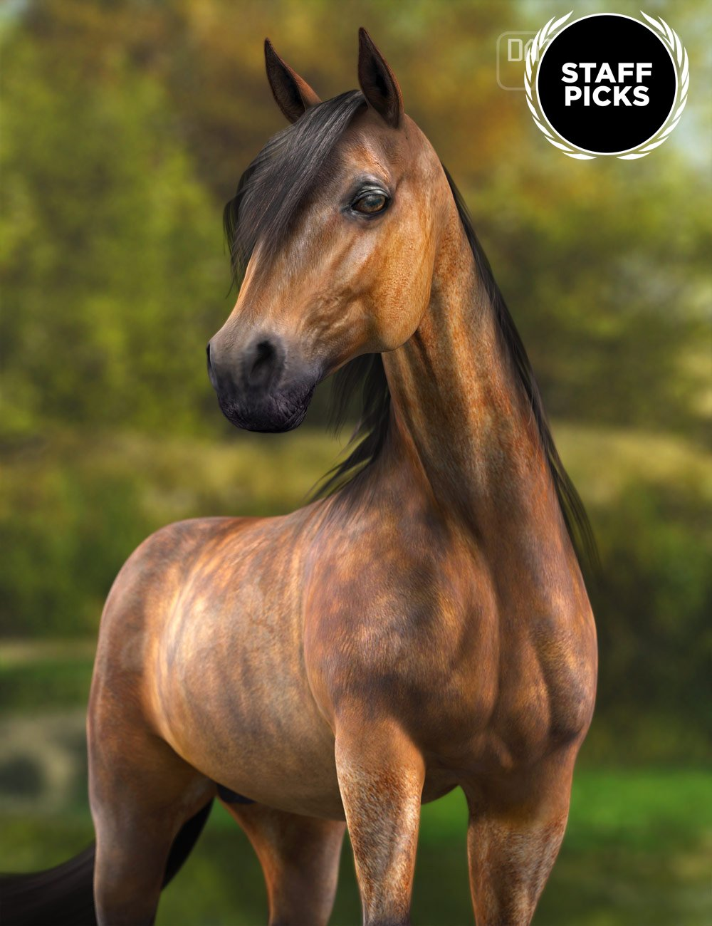 DAZ Horse 2 by: , 3D Models by Daz 3D