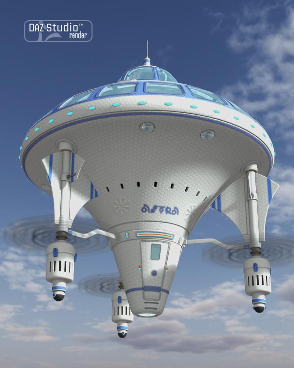 Vimana Flying Machine by: petipet, 3D Models by Daz 3D