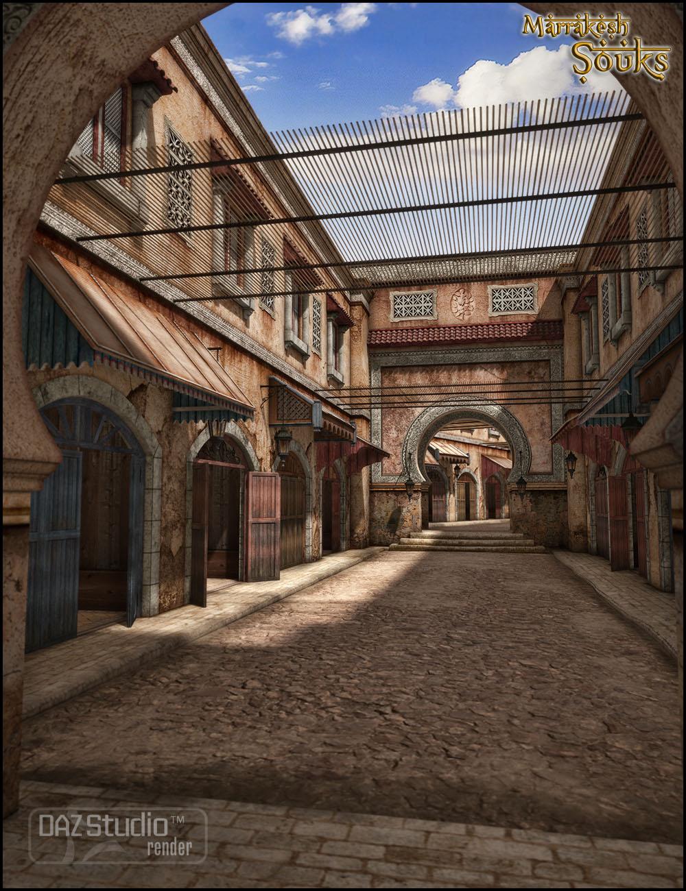 Marrakesh Souks 2012 by: Jack Tomalin, 3D Models by Daz 3D