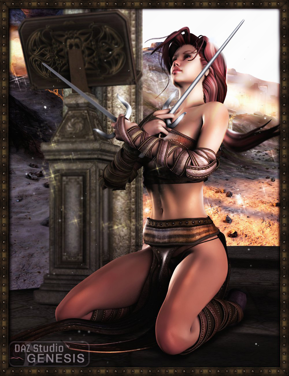 Sylvanna for Genesis by: Orion1167, 3D Models by Daz 3D