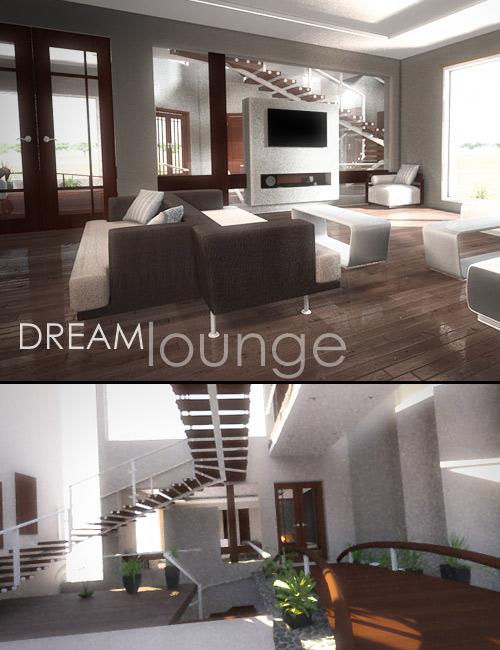 Dream Lounge by: Dreamlight, 3D Models by Daz 3D