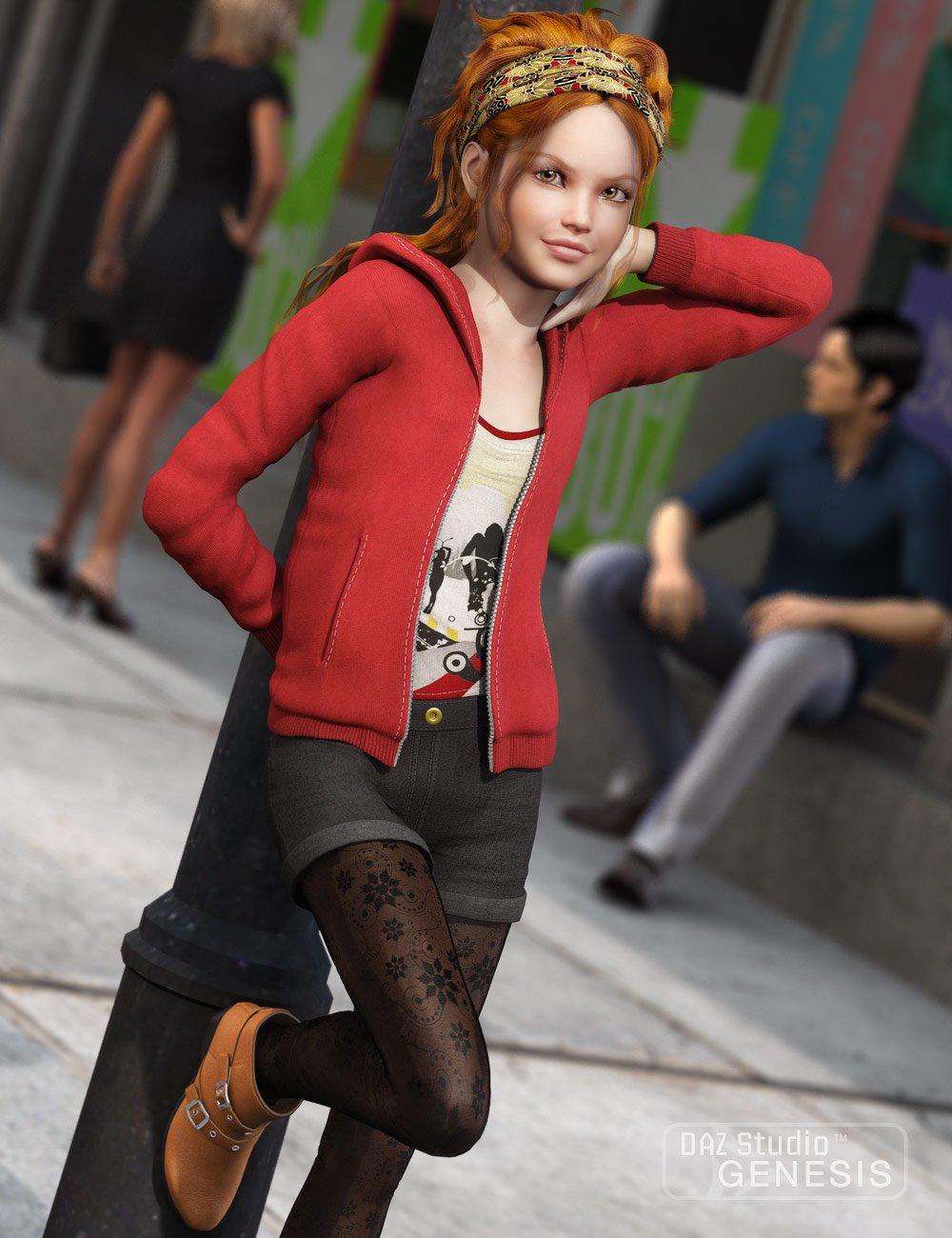 Mall Girl for Genesis by: Dogz, 3D Models by Daz 3D
