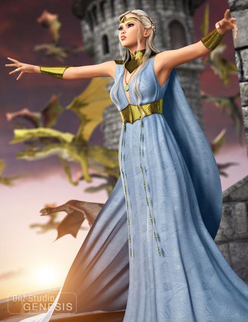 Dragon Queen for Genesis Female by: Ravenhair, 3D Models by Daz 3D