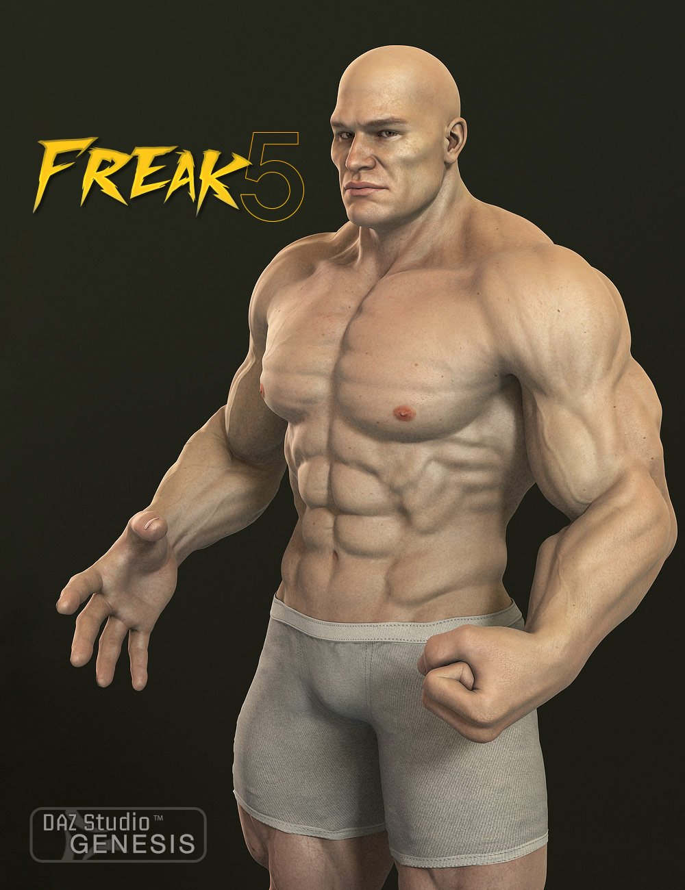 Freak 5 by: , 3D Models by Daz 3D