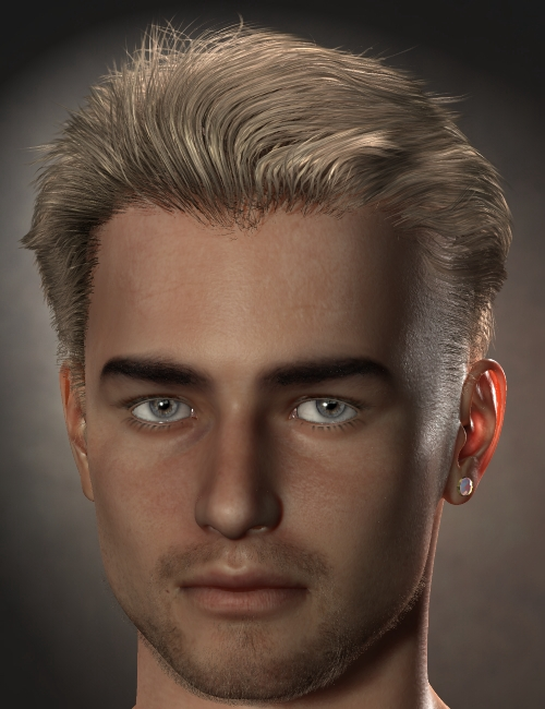 Guillaume Hair for Genesis and M4 by: Neftis3D, 3D Models by Daz 3D