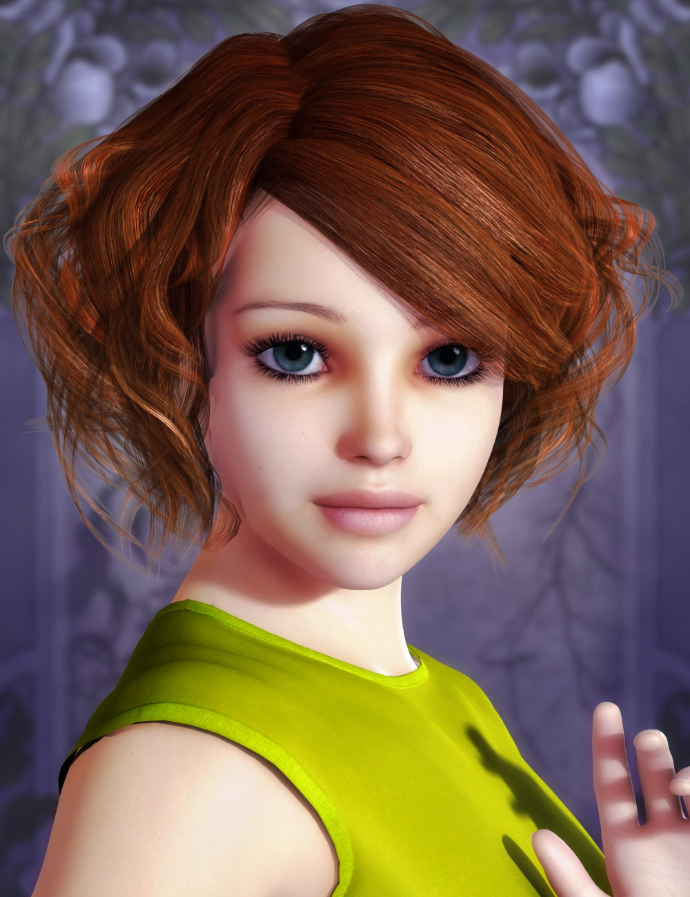 Paxton Hair by: AprilYSH, 3D Models by Daz 3D