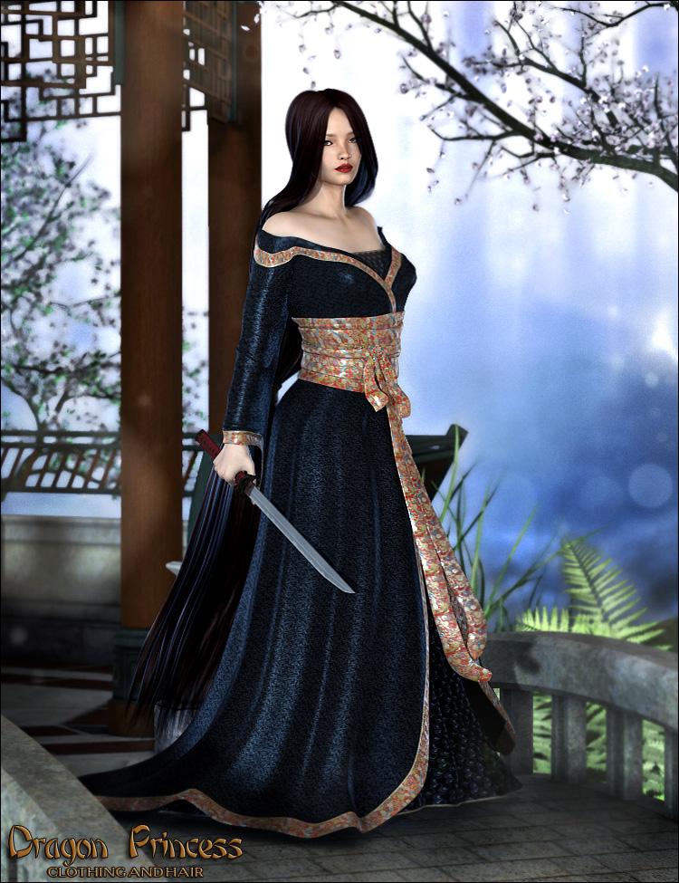 Dragon Princess by: Valea, 3D Models by Daz 3D