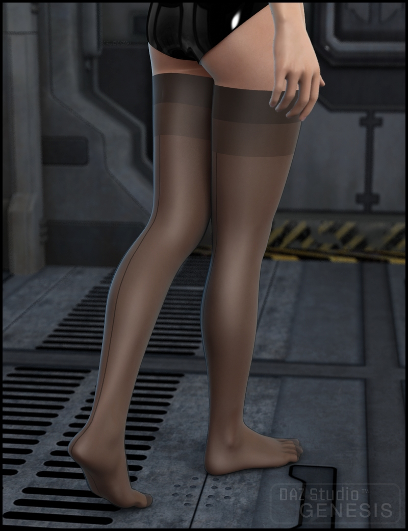 Wicked Stockings by: Xena, 3D Models by Daz 3D