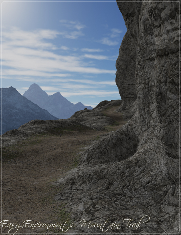 Easy Environments Mountain Trail by: Flipmode, 3D Models by Daz 3D