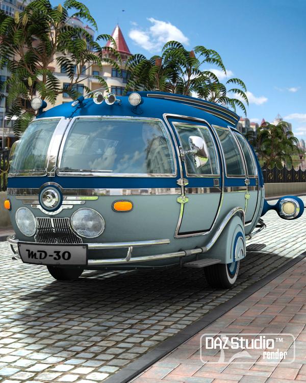 Bus Maxis by: petipet, 3D Models by Daz 3D