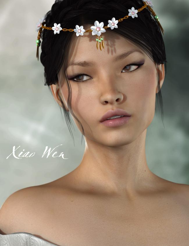 Xiao Wen for V5 by: Raiya, 3D Models by Daz 3D