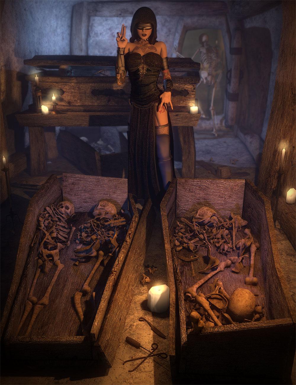 Them Bones 3 by: Orestes Graphics, 3D Models by Daz 3D