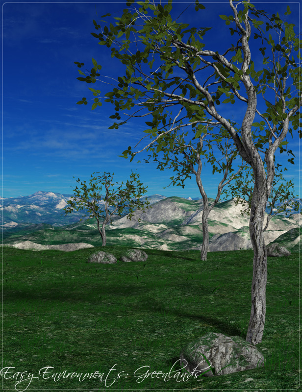 Easy Environments Greenlands by: Flipmode, 3D Models by Daz 3D