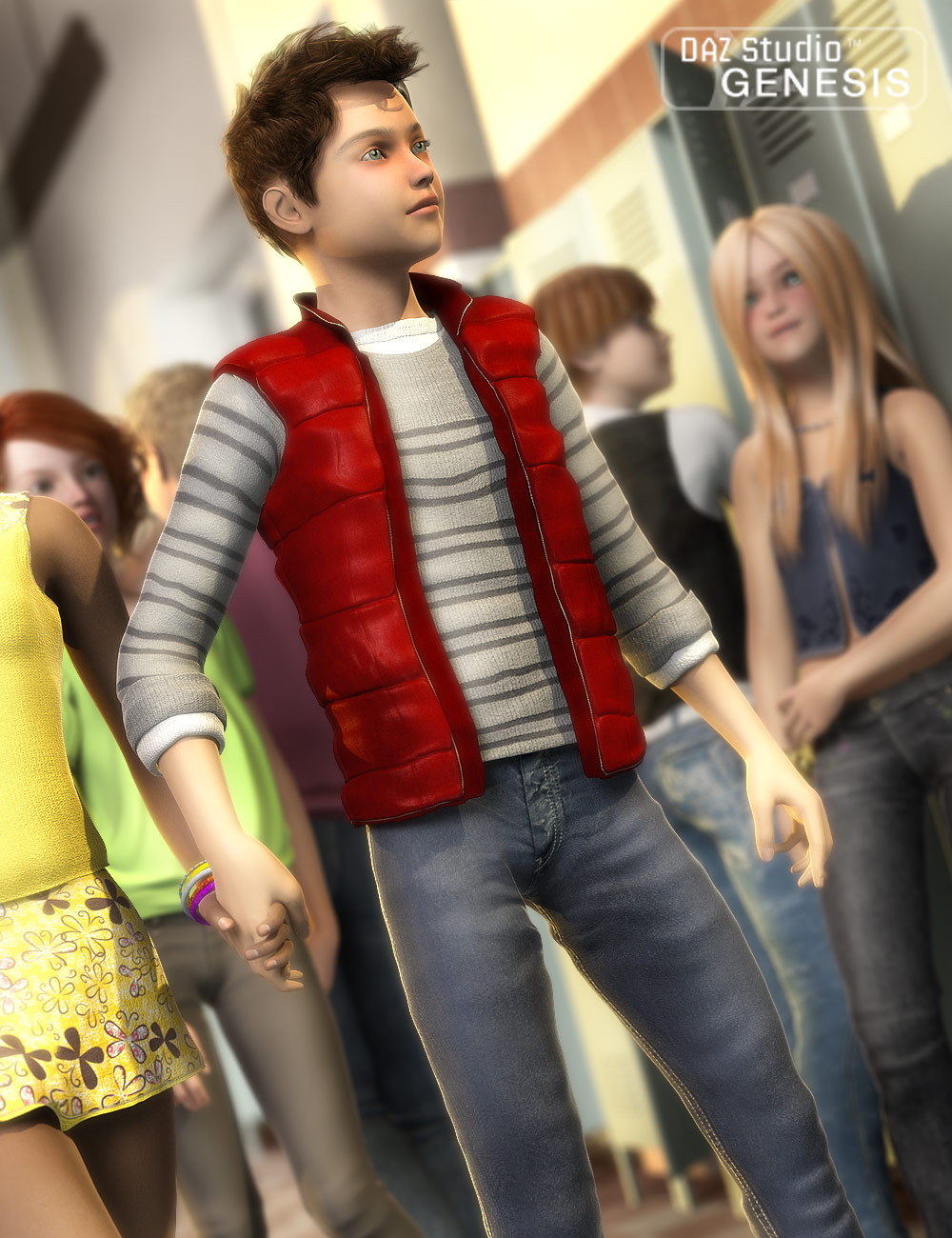 Teen Swag by: Barbara BrundonSarsa, 3D Models by Daz 3D