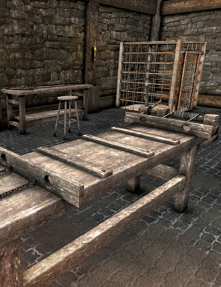 The Dungeon Props by: ARTCollaborationsNeilV 1, 3D Models by Daz 3D